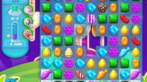 Candy Crush Soda Saga Level 569 (2nd version, 3 Stars)