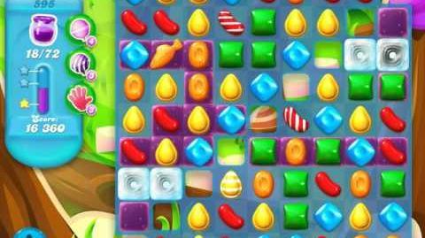Candy Crush Soda Saga Level 595 (7th version)