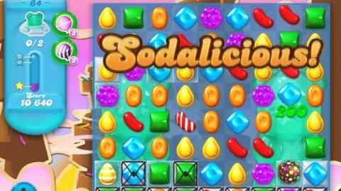 Candy Crush Soda Saga Level 64 (3rd version, 3 Stars)