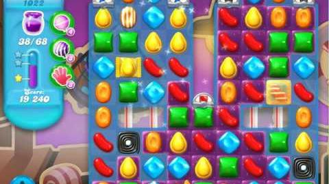 Candy Crush Soda Saga Level 1022 (6th version, 3 Stars)