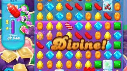 Candy Crush Soda Saga Level 903 (nerfed, 3 Stars)