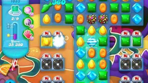 Candy Crush Soda Saga Level 1083 (2nd buffed, 3 Stars)