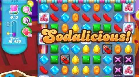 Candy Crush Soda Saga Level 545 (4th version, 3 Stars)