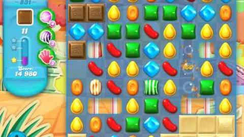 Candy Crush Soda Saga Level 831 (3 Stars)