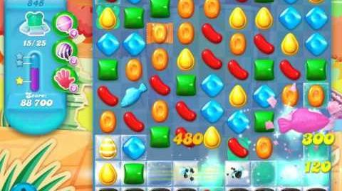 Candy Crush Soda Saga Level 845 (4th version, 3 Stars)