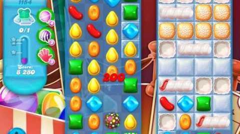 Candy Crush Soda Saga Level 1154 (4th version, 3 Stars)