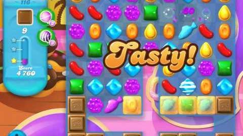 Candy Crush Soda Saga Level 116 (4th version, 3 Stars)