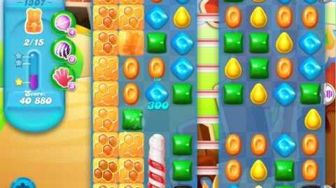 Candy Crush Soda Saga Level 1307 (2nd nerfed, 3 Stars)