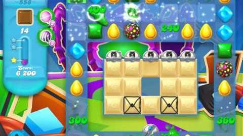 Candy Crush Soda Saga Level 558 (3 Stars)