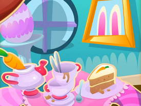 Carrot Cake Cubby background