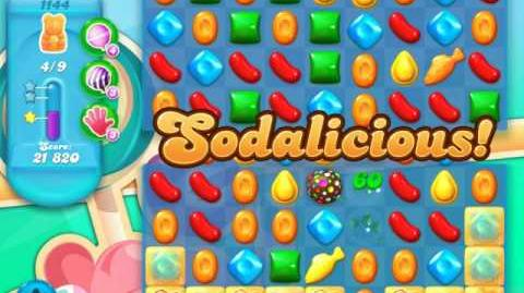 Candy Crush Soda Saga Level 1144 (nerfed, 3 Stars)