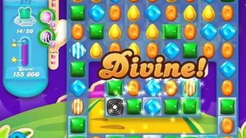 Candy Crush Soda Saga Level 572 (buffed, 3 Stars)