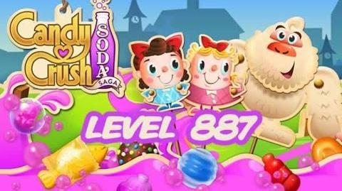 Candy Crush Soda Saga Level 887