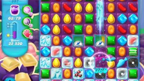 Candy Crush Soda Saga Level 897 (3 Stars)