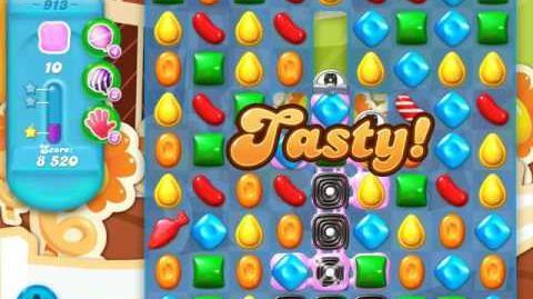 Candy Crush Soda Saga Level 913 (3 Stars)