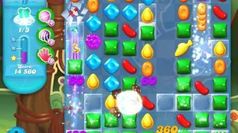 Candy Crush Soda Saga Level 12 (nerfed, 3 Stars)