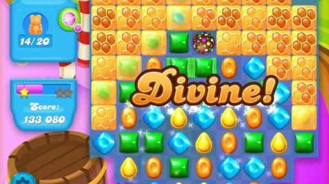 Candy Crush Soda Saga Level 130 (4th version, 3 Stars)