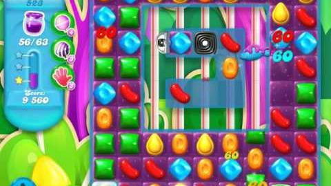 Candy Crush Soda Saga Level 523 (4th version, 3 Stars)