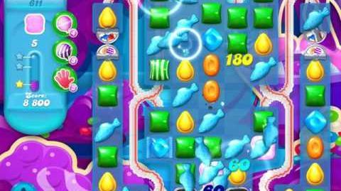 Candy Crush Soda Saga Level 611 (2nd version, 3 Stars)