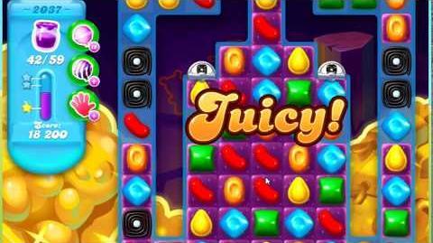 Candy Crush Soda Saga Level 2037 **