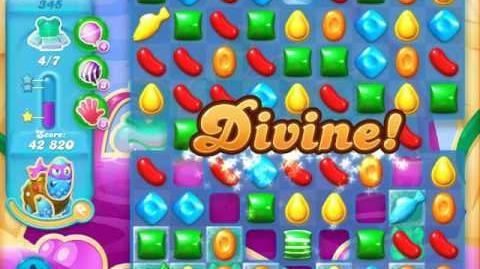 Candy Crush Soda Saga Level 345 (7th version, 3 Stars) (7 bears)
