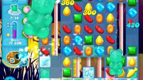 Candy Crush Soda Saga Level 475 (6th version)