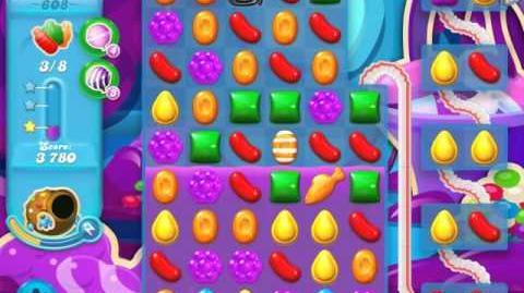 Candy Crush Soda Saga Level 608 (3 Stars)