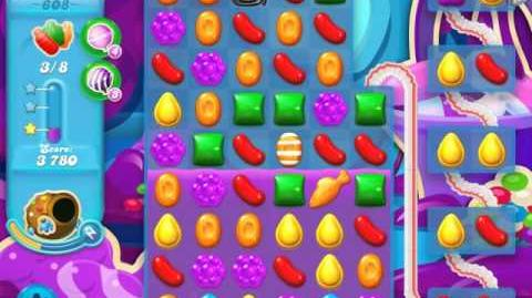 Candy Crush Soda Saga Level 608 (3 Stars)
