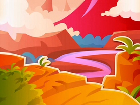 Jelly Tropics background