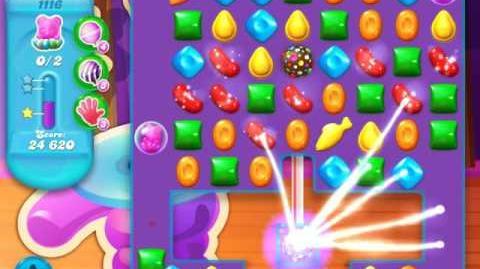 Candy Crush Soda Saga Level 1116 (3rd version, 3 Stars)