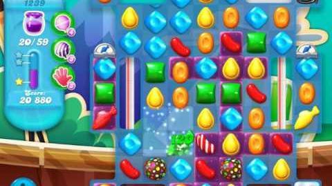 Candy Crush Soda Saga Level 1239 (nerfed, 3 Stars)