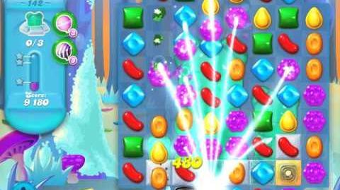 Candy Crush Soda Saga Level 142 (4th version, 3 Stars)
