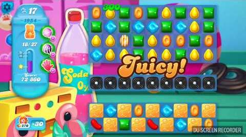 Candy Crush Soda Saga Level 1954