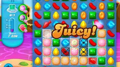Candy Crush Soda Saga Level 28 (4th version, 3 Stars)