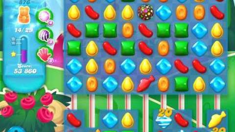 Candy Crush Soda Saga Level 876 (3 Stars)