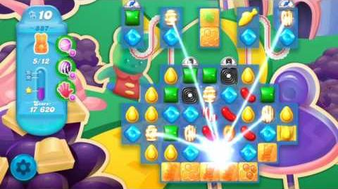 Candy Crush Soda Saga Level 887 (3 Stars)