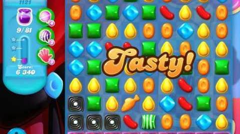 Candy Crush Soda Saga Level 1121 (buffed, 3 Stars)