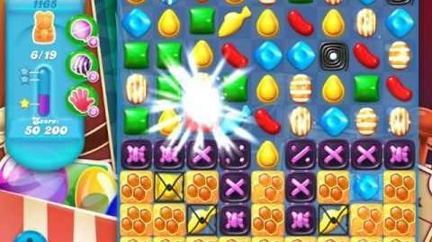 Candy Crush Soda Saga Level 1165 (2nd nerfed)