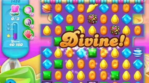 Candy Crush Soda Saga Level 1426 (nerfed)