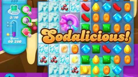 Candy Crush Soda Saga Level 639 (buffed)