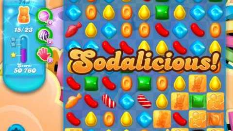 Candy Crush Soda Saga Level 749 (buffed, 3 Stars)