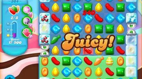Candy Crush Soda Saga Level 364 (2nd buffed, 3 Stars)