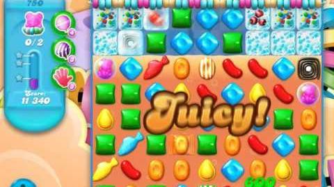 Candy Crush Soda Saga Level 750 (buffed)