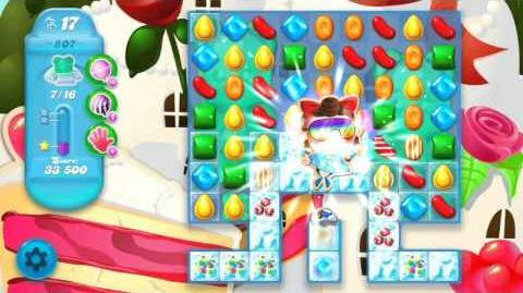 Candy Crush Soda Saga Level 807 (3 Stars)