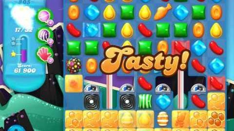 Candy Crush Soda Saga Level 805 (nerfed)