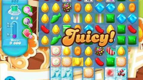 Candy Crush Soda Saga Level 922 (buffed)