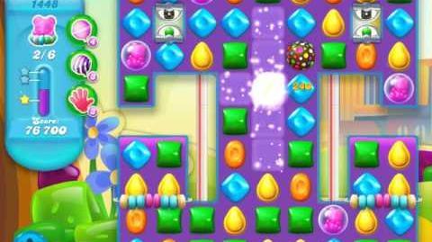 Candy Crush Soda Saga Level 1448 (nerfed, 3 Stars)