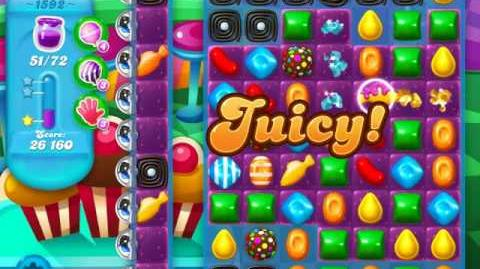 Candy Crush Soda Saga Level 1592 (buffed)