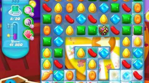 Candy Crush Soda Saga Level 533 (6th version)