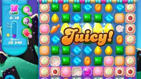 Candy Crush Soda Saga Level 769 (6th version, 3 Stars)